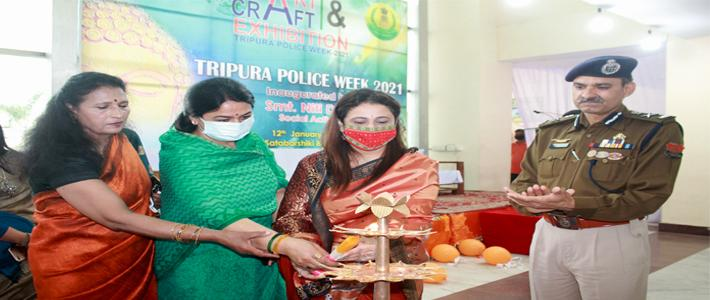 ART & CRAFT EXHIBITION DURING POLICE WEEK 2021